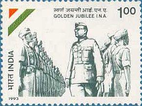 indian-stamp-on-azad-hind-sena-ii