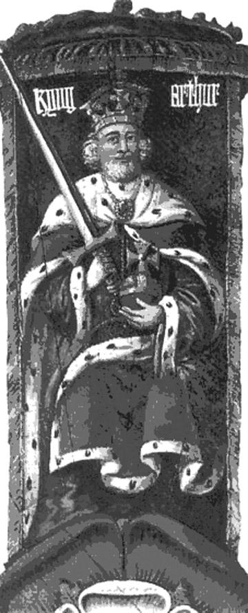 Впервые король артур упоминается в валлийской эпической поэме гододдин, появившейся примерно в начале нашей эры