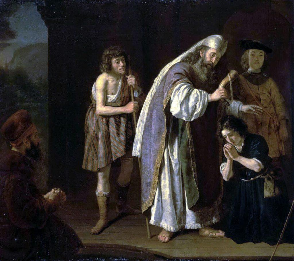 Помазание на Царство Давида. Худ. Ян Викторс