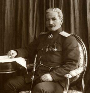 Андраник-паша Озанян в форме генерала Русской Императорской армии.