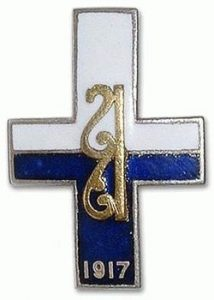 250px-Знак_Алексеевского_пехотного_полка