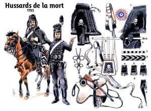 hussards_mort